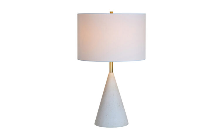 Cimeria Table Lamp - Renwil home decor - lights on