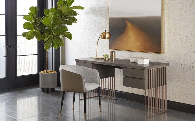 Daphane Desk - SUNPAN home office - room shot
