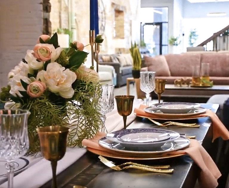 Virtual Easter Dinner - Chervin Furniture
