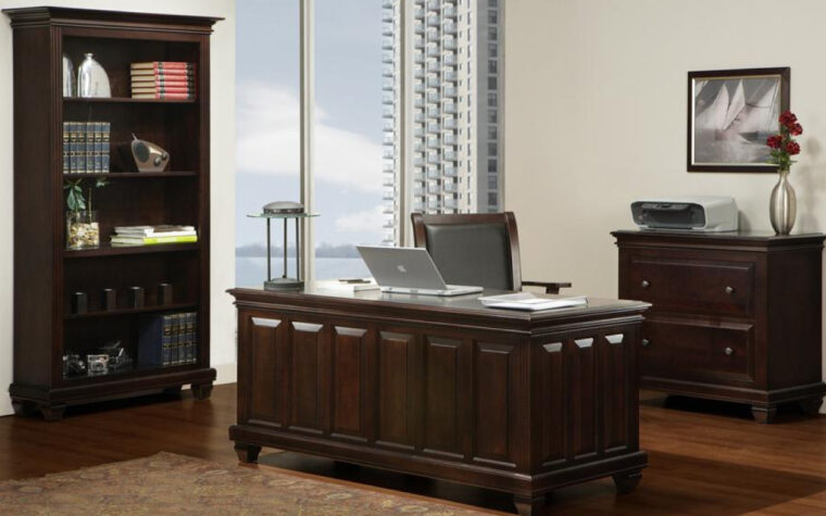 Florentino Home Office Collection by Handstone Furniture