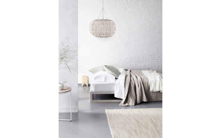 Kurv Ceiling Light Fixture room shot by Renwil