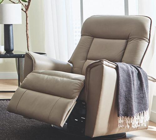 Palliser leather reclining furniture - quality furniture made in Winnipeg