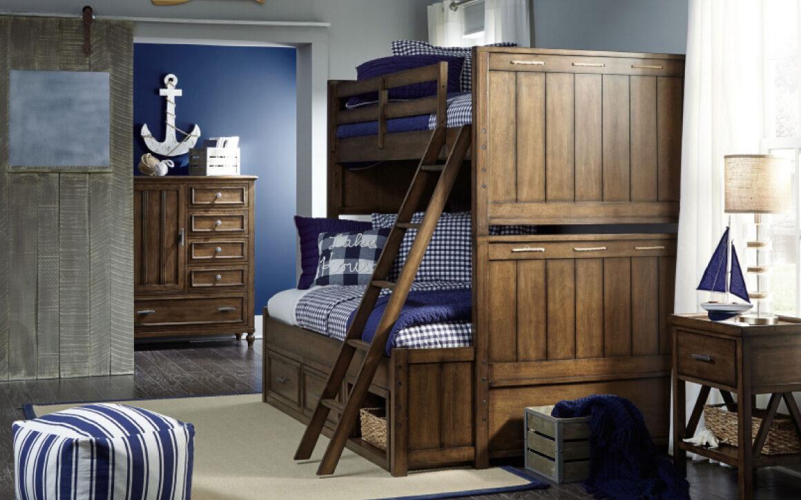 Lake House Bunk Bed Chervin Furniture Design