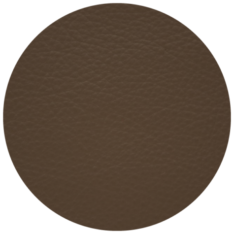medium brown leather swatch