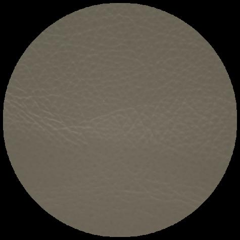 medium grey leather swatch