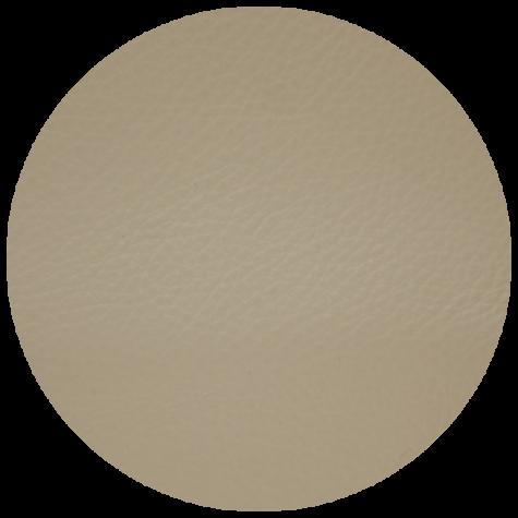 light beige leather swatch