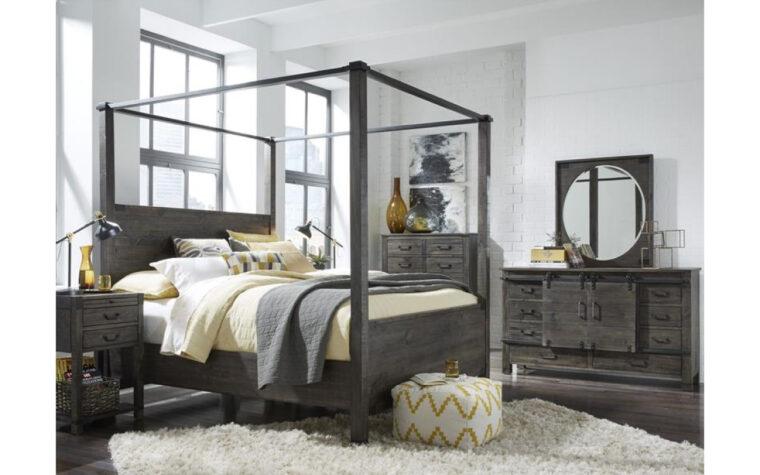B3804 Abington Bedroom Collection - rustic pine furniture