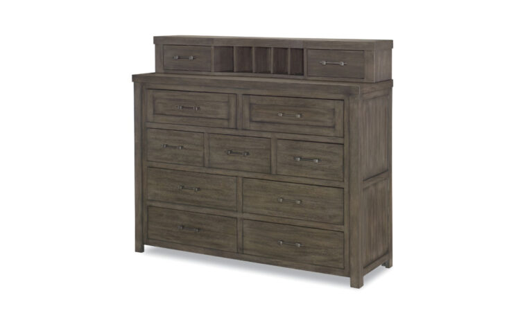 8830-1500 - Bunkhouse Bureau - 9-drawer dresser with removable hutch on top (2 more drawers and 5 mail slots)