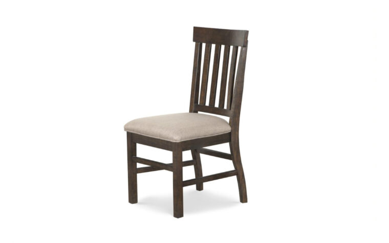 St. Claire Dining Side Chair - Magnussen - upholstered seat and vertical slat back