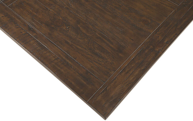 St. Claire Rectangular Dining Table finish - Magnussen - Rustic Pine finish lends a rich, warm hue to the pine solids and veneers