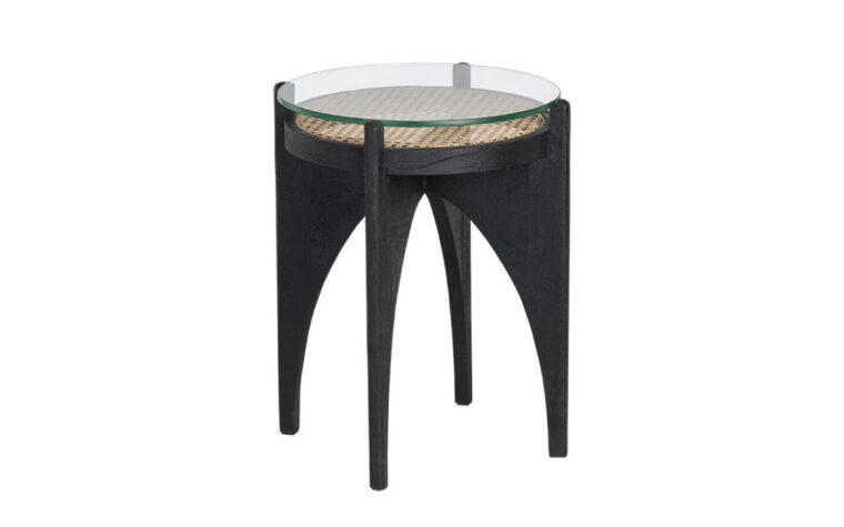 Adora end table front view