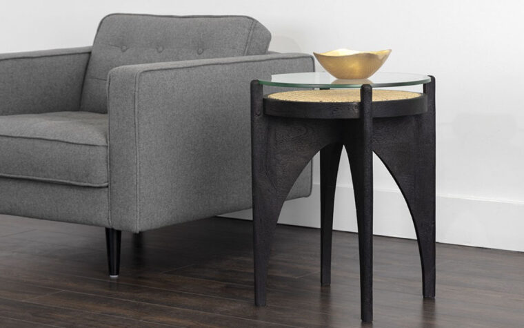 Adora end table lifestyle image
