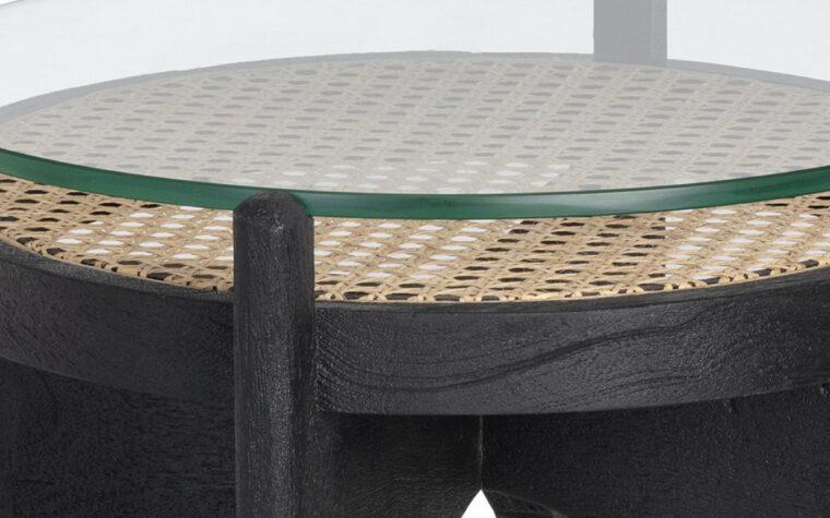 Adora end table top detail