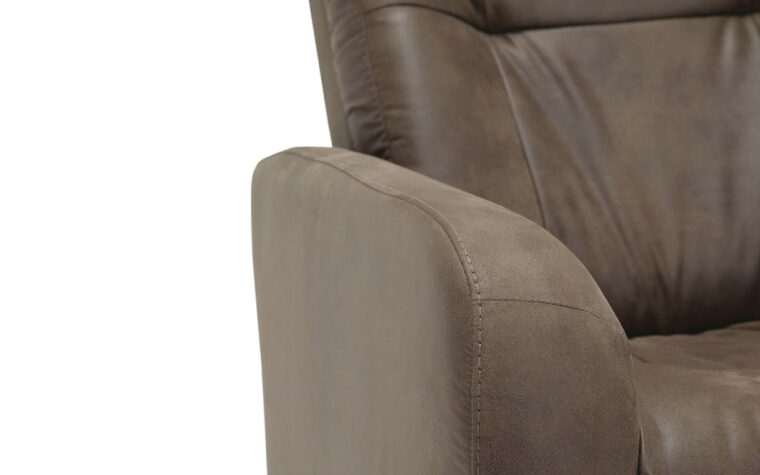 Sorrento reclining chair arm detail closeup