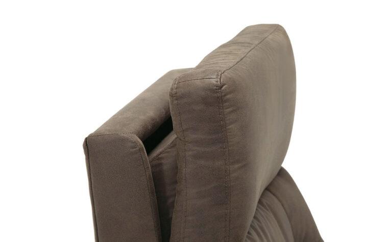 Sorrento reclining chair headrest tilt detail