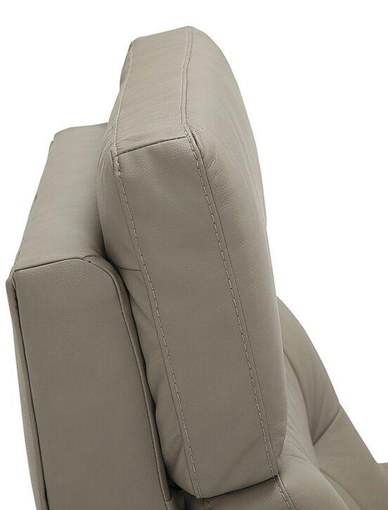 Sorrento recliner headrest detail