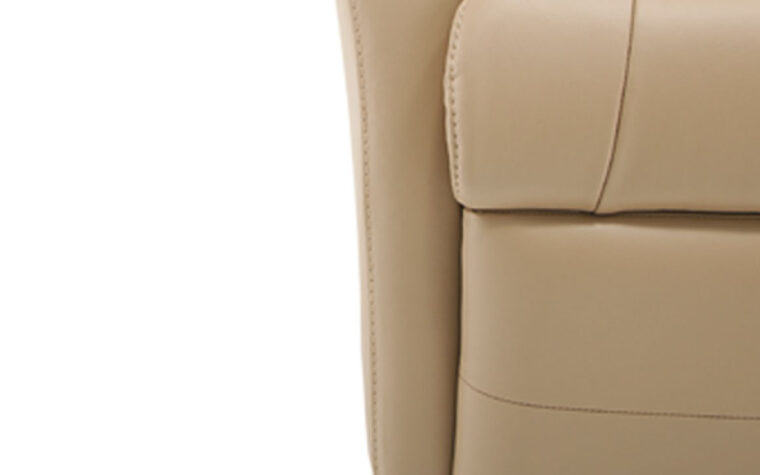 Banff Reclining chair footrest detail