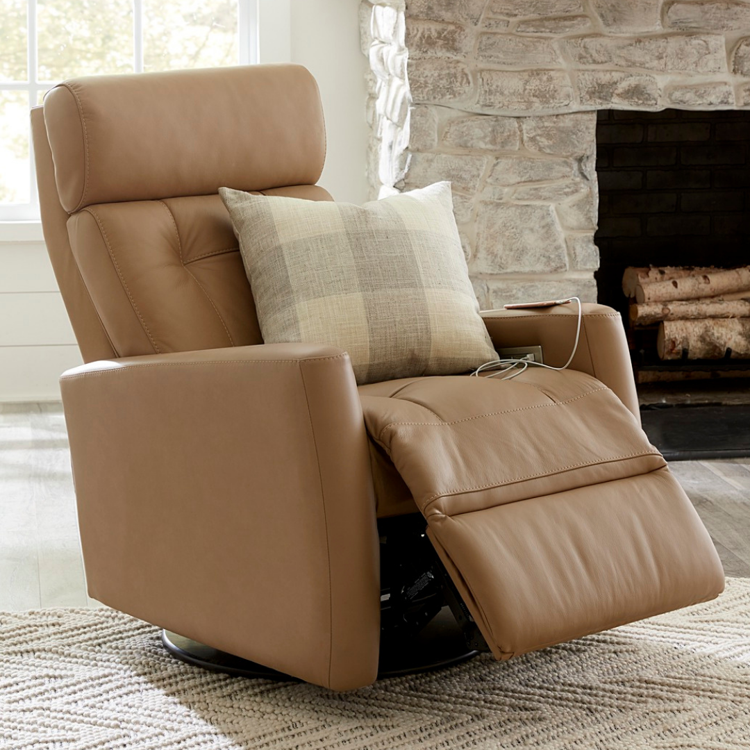 palliser leather reclining chair