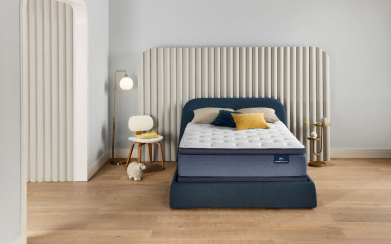 cozy perfect sleeper plush mattress in room