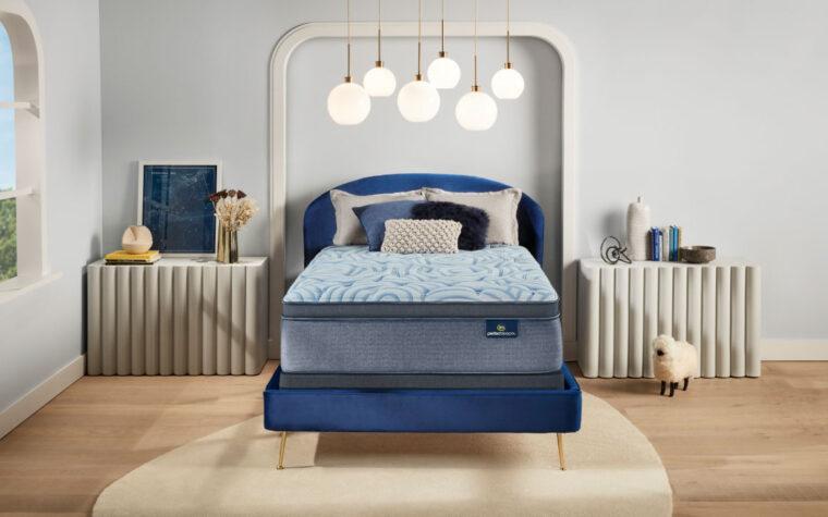 future mattress in bedroom
