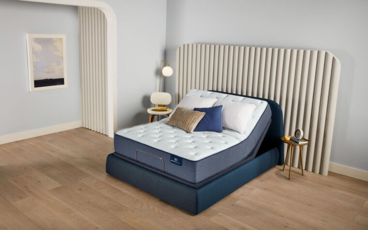escape firm mattress in an adjustable bed