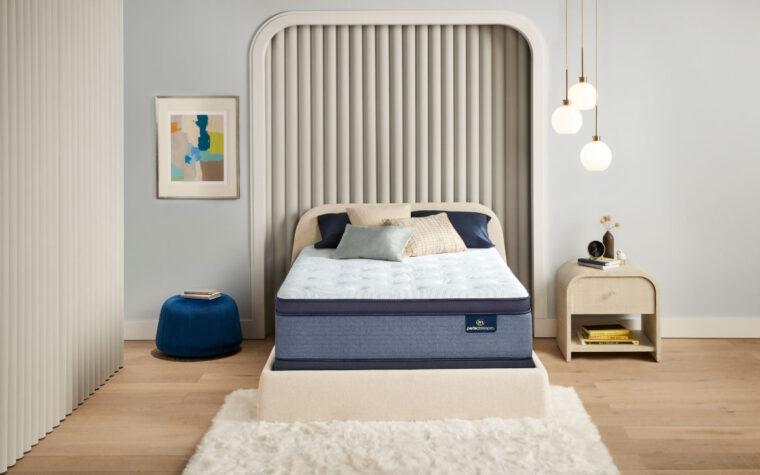transform pillow top firm mattress by serta